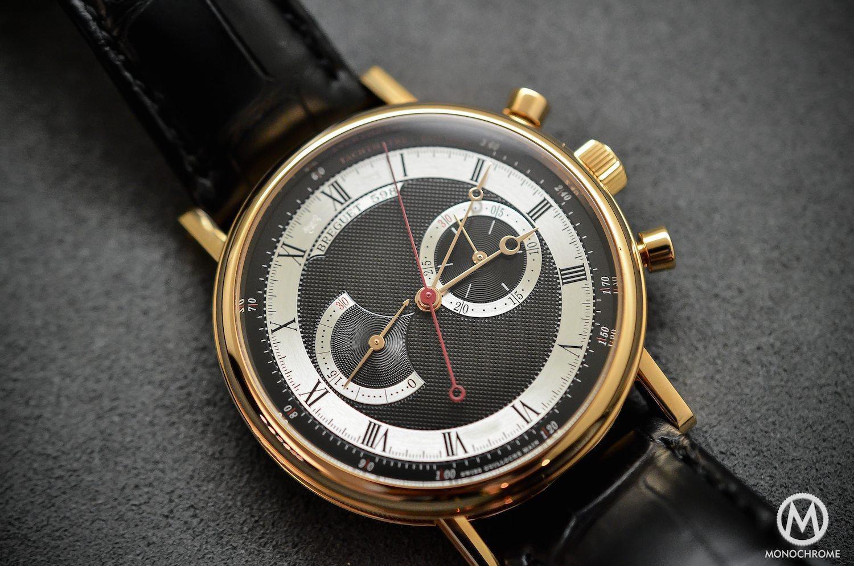 Breguet Classique Chronograph 5287 pink gold black dial - 2