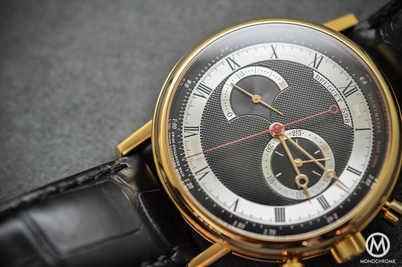 Breguet Classique Chronograph 5287 pink gold black dial - 5