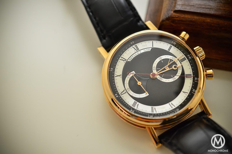 Breguet Classique Chronograph 5287 pink gold black dial - 7