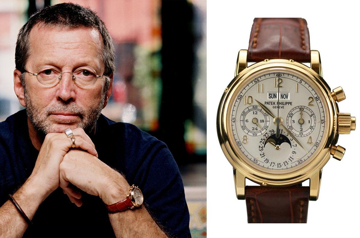 Eric Clapton Patek Philippe 5004