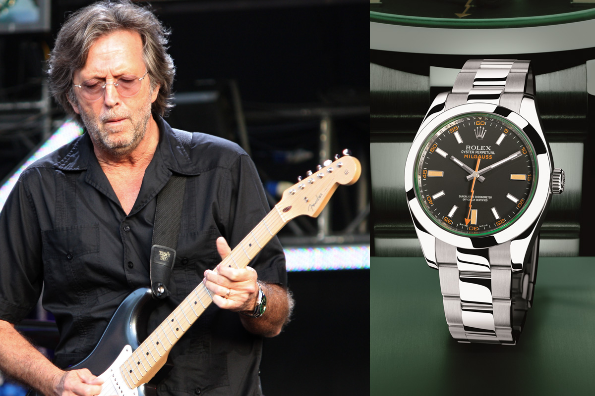 Eric Clapton Rolex Milgauss GV