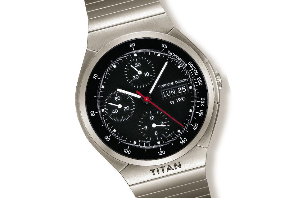 IWC Porsche Design Titan Chronograph reference 3704