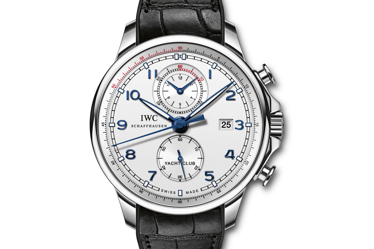 IWC Portuguese Yacht Club Chronograph Volvo Ocean Racer IW390216