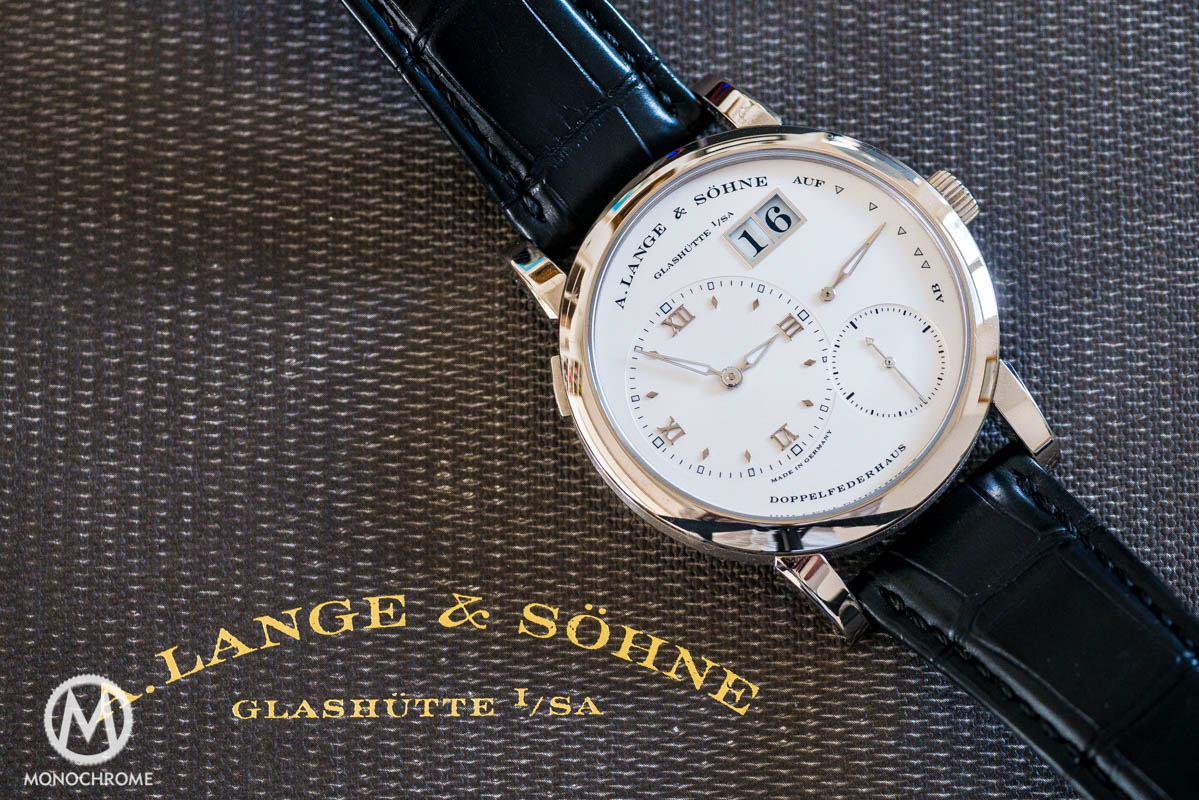 A. Lange & Sohne Lange 1 white gold