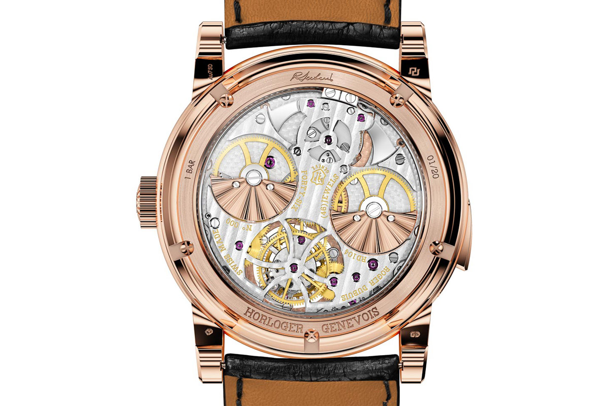 Roger Dubuis Hommage Minute Repeater Tourbillon Automatic - 3