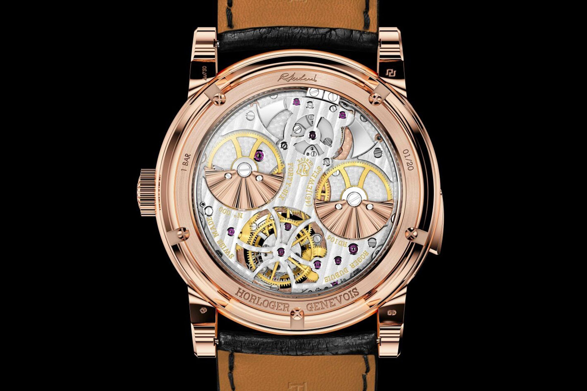 Roger Dubuis Hommage Minute Repeater Tourbillon Automatic - 4
