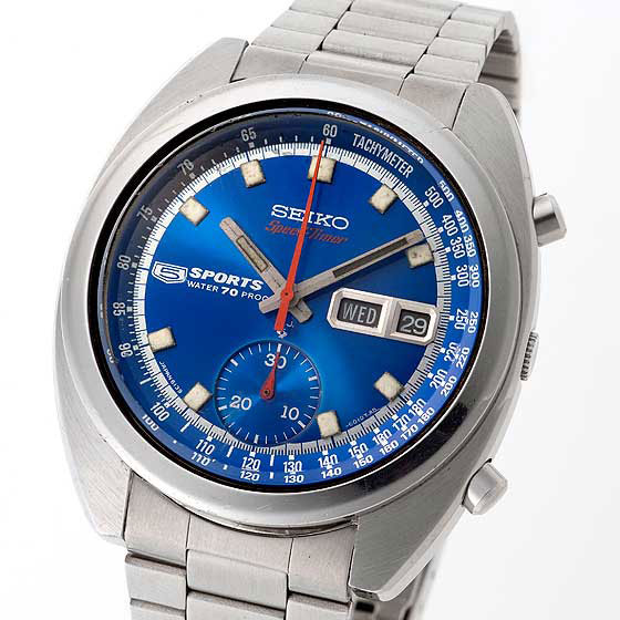 Seiko 5 Sports Speed Timer