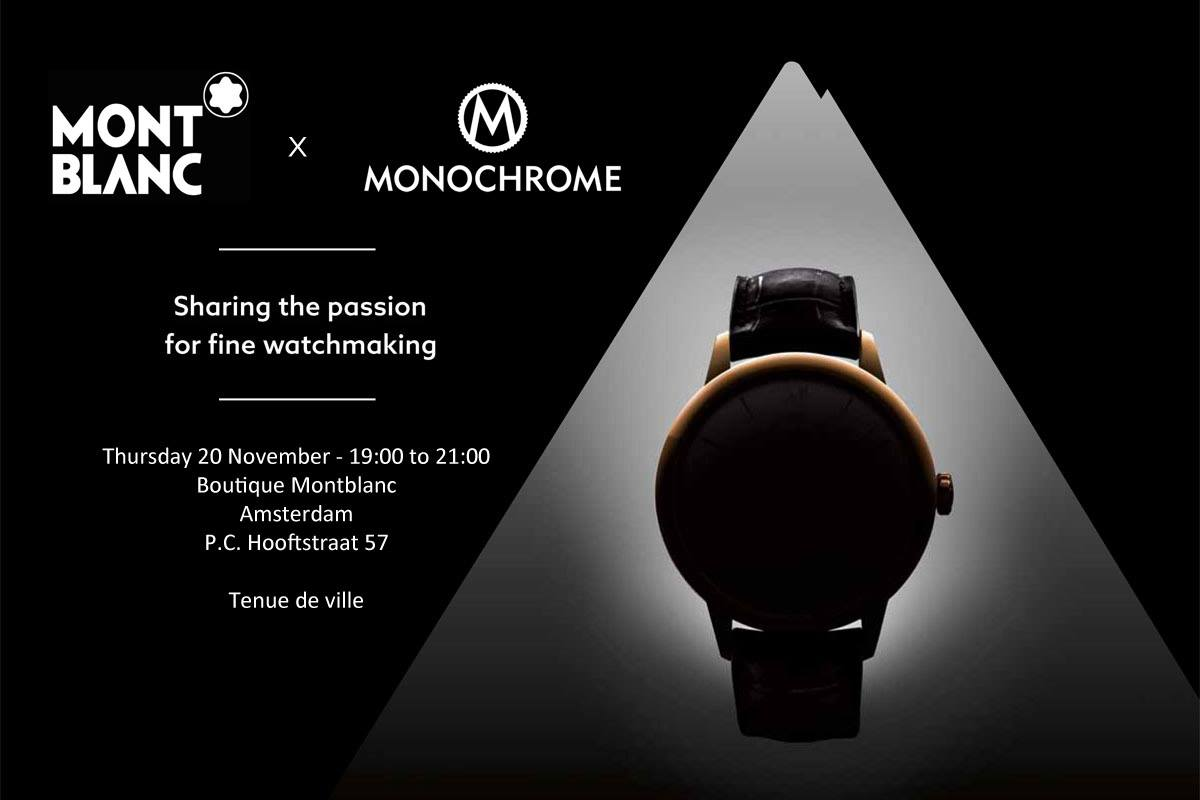 invitation sharing the passion montblanc