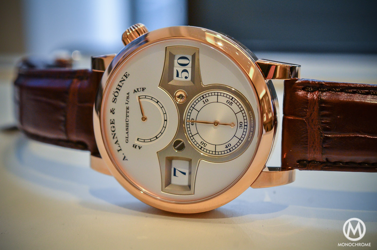 A. lange and Sohne Zeitwerk Pink gold - 1