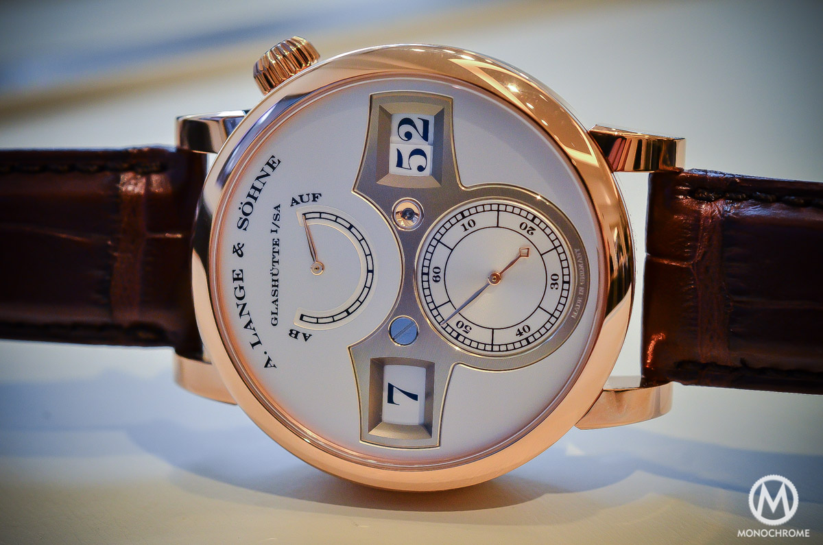 A. lange and Sohne Zeitwerk Pink gold - 10
