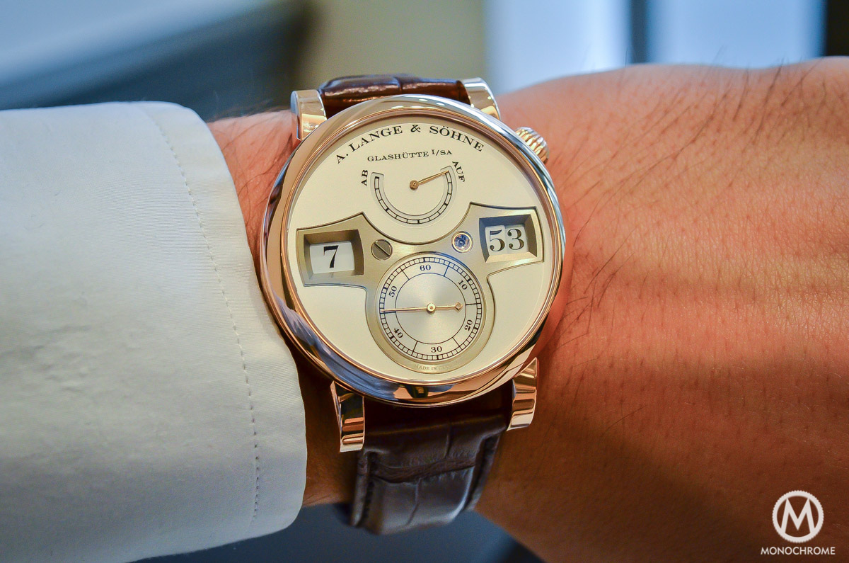 A. lange and Sohne Zeitwerk Pink gold - 11