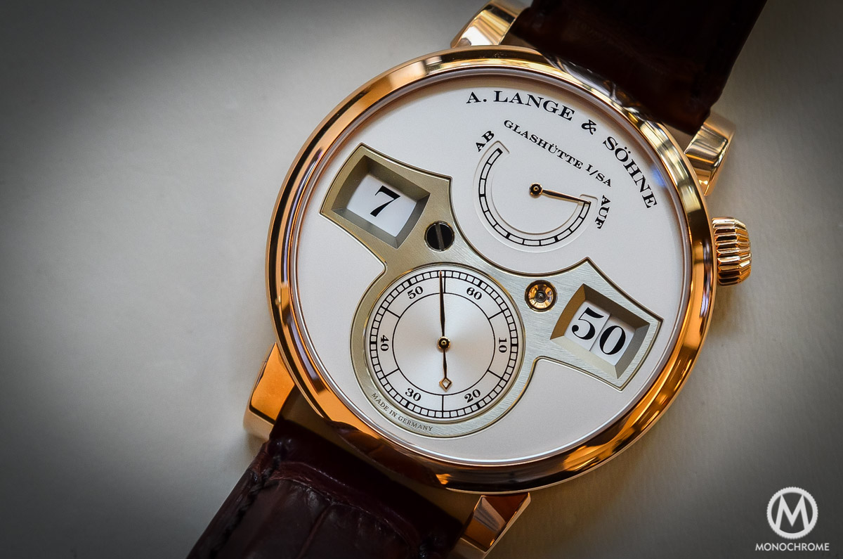 A. lange and Sohne Zeitwerk Pink gold - 4