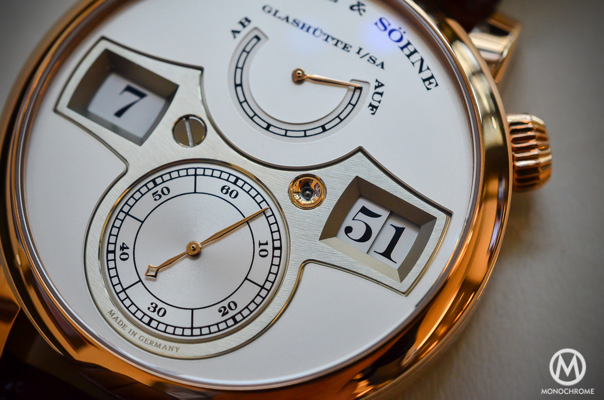 A. lange and Sohne Zeitwerk Pink gold - 5