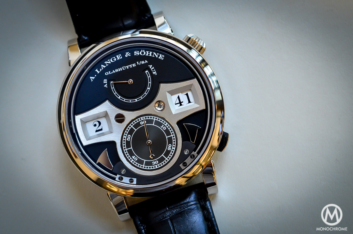 A. lange and Sohne Zeitwerk Striking Time - 2