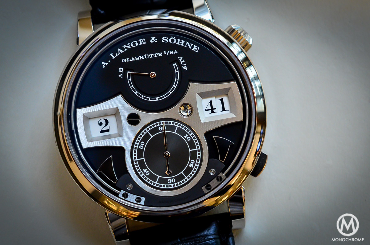 A. lange and Sohne Zeitwerk Striking Time - 3