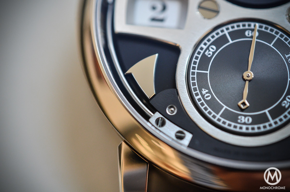 A. lange and Sohne Zeitwerk Striking Time - 4