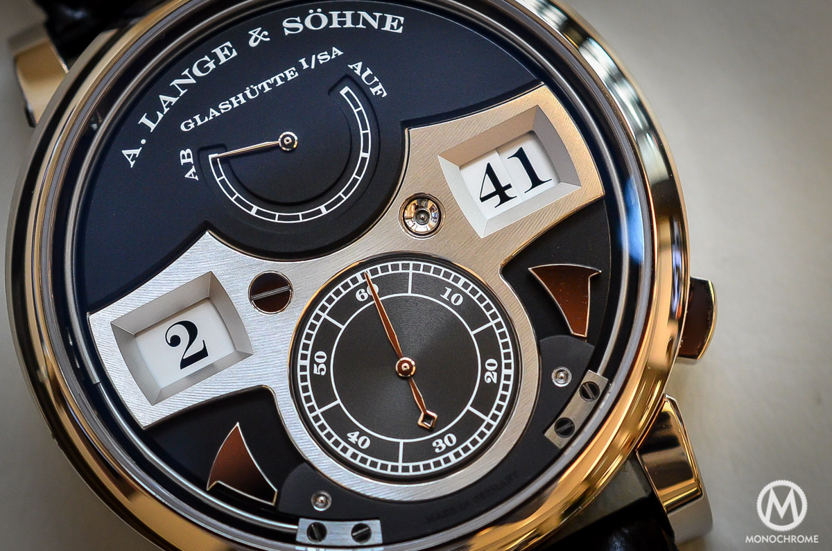 A. lange and Sohne Zeitwerk Striking Time - 5