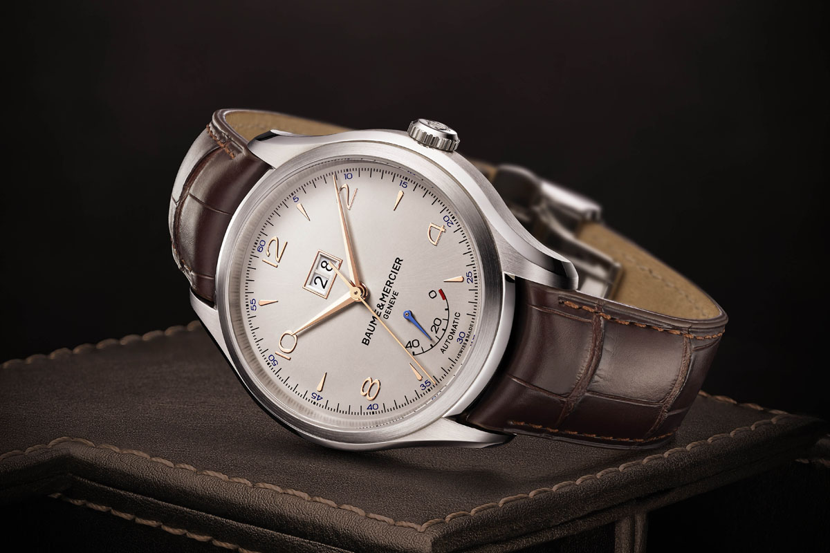 Baume & Mercier Clifton Automatic Big Date and Power Reserve - 1