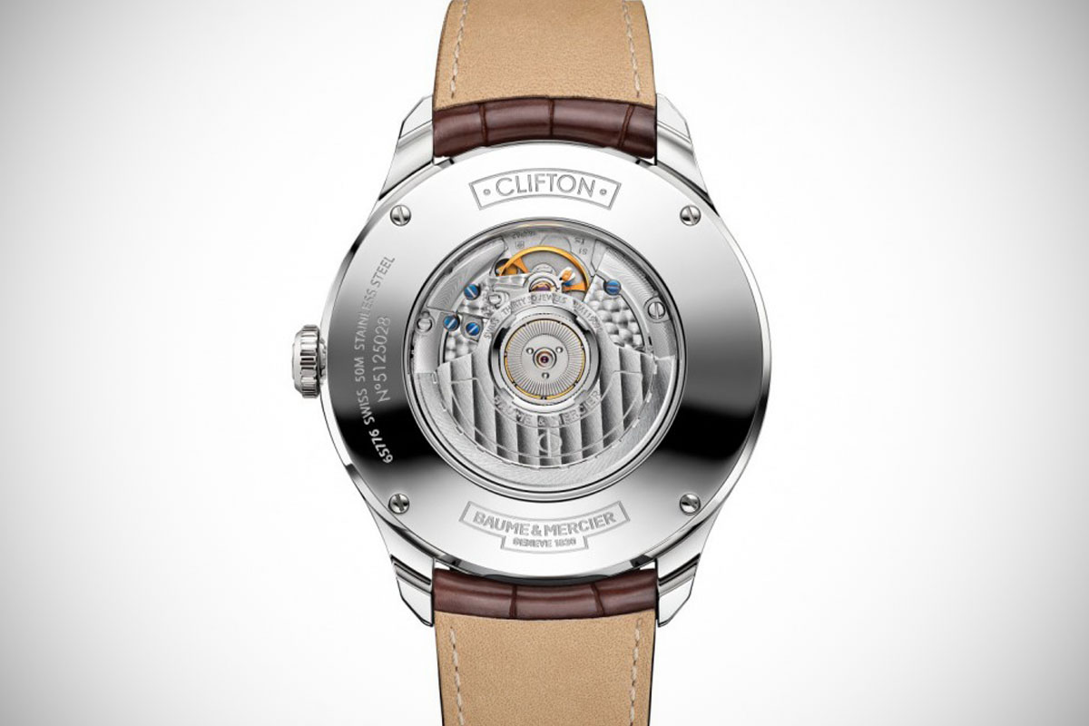 Baume & Mercier Clifton Automatic Big Date and Power Reserve  - 3