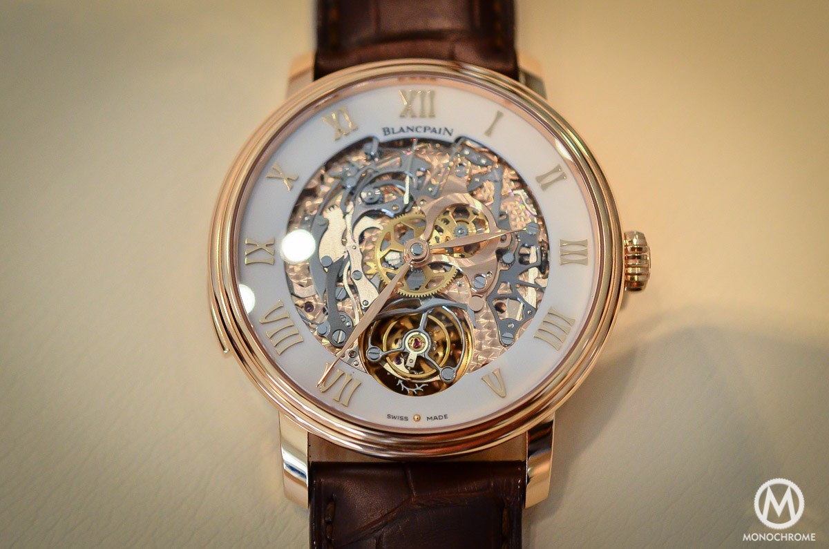 Blancpain carrousel minute repeater Le Brassus Skeleton Tourbillon - 1