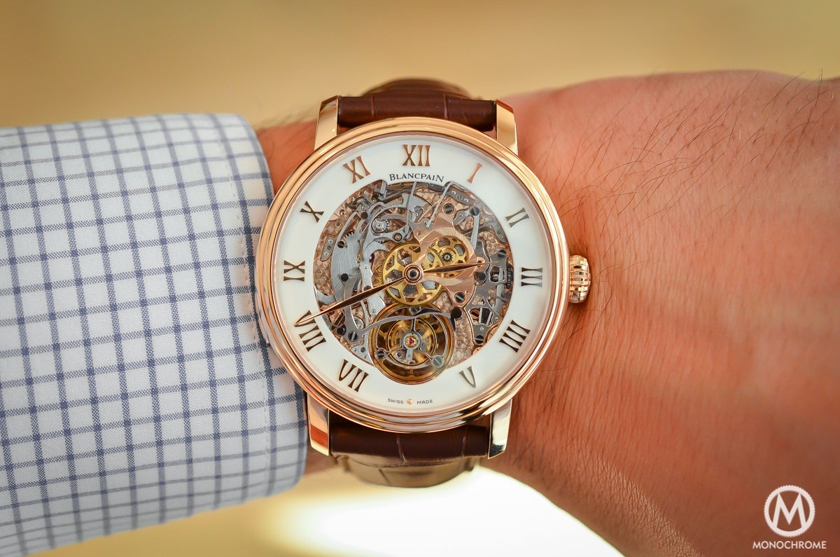 Blancpain carrousel minute repeater Le Brassus Skeleton Tourbillon - 10