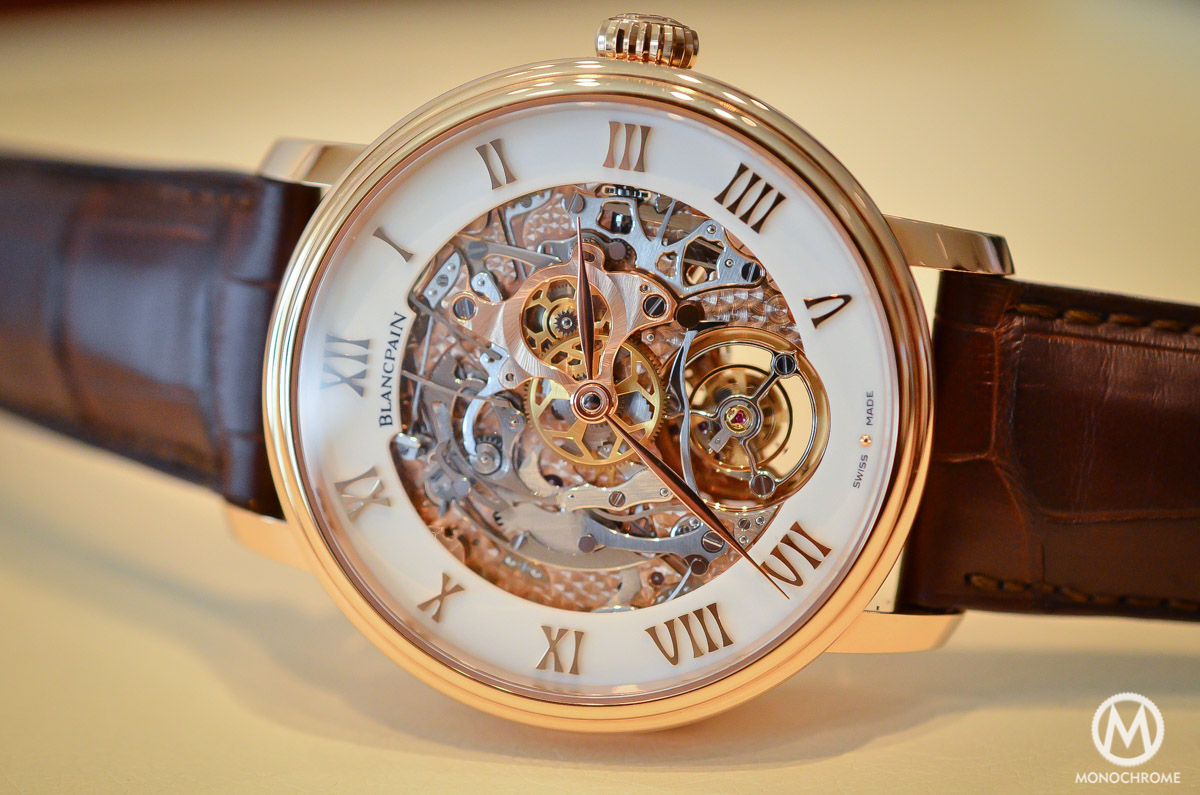 Blancpain carrousel minute repeater Le Brassus Skeleton Tourbillon - 2
