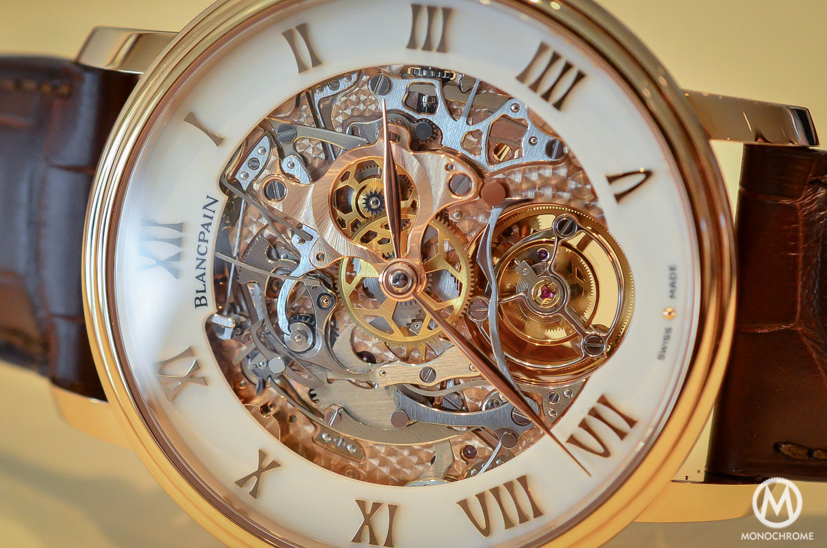 Blancpain carrousel minute repeater Le Brassus Skeleton Tourbillon - 3
