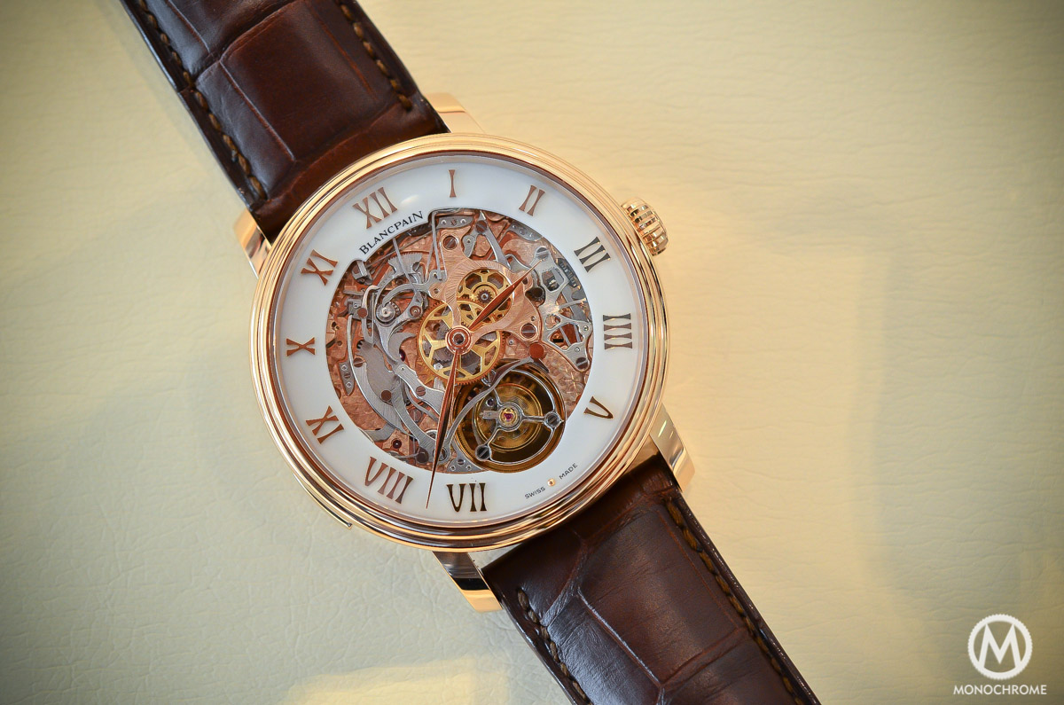 Blancpain carrousel minute repeater Le Brassus Skeleton Tourbillon - 4