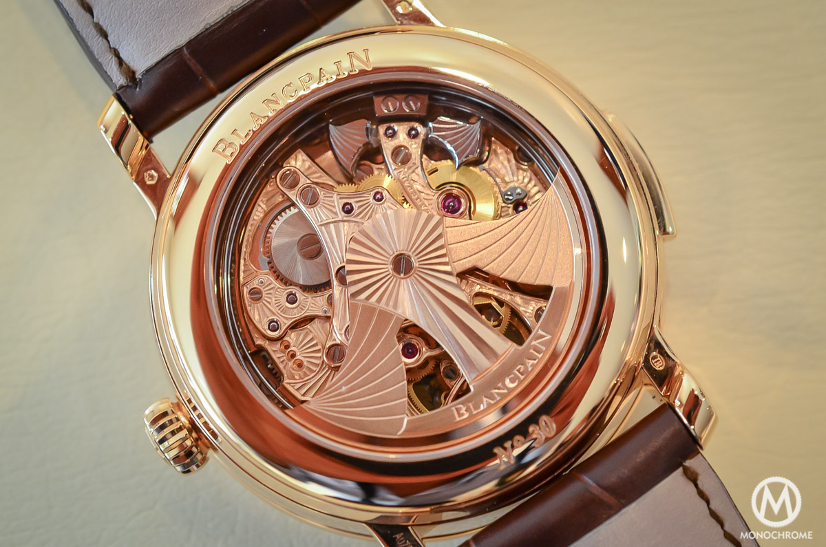 Blancpain carrousel minute repeater Le Brassus Skeleton Tourbillon - 6