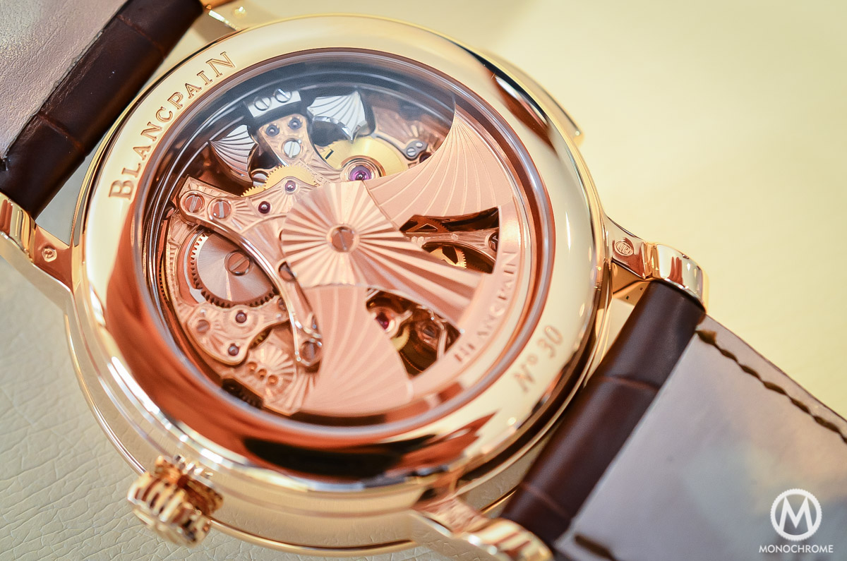 Blancpain carrousel minute repeater Le Brassus Skeleton Tourbillon - 7