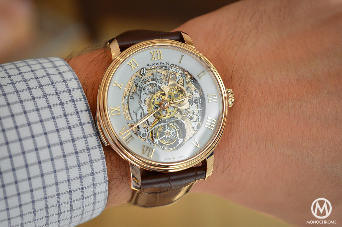 Blancpain carrousel minute repeater Le Brassus Skeleton Tourbillon - 8