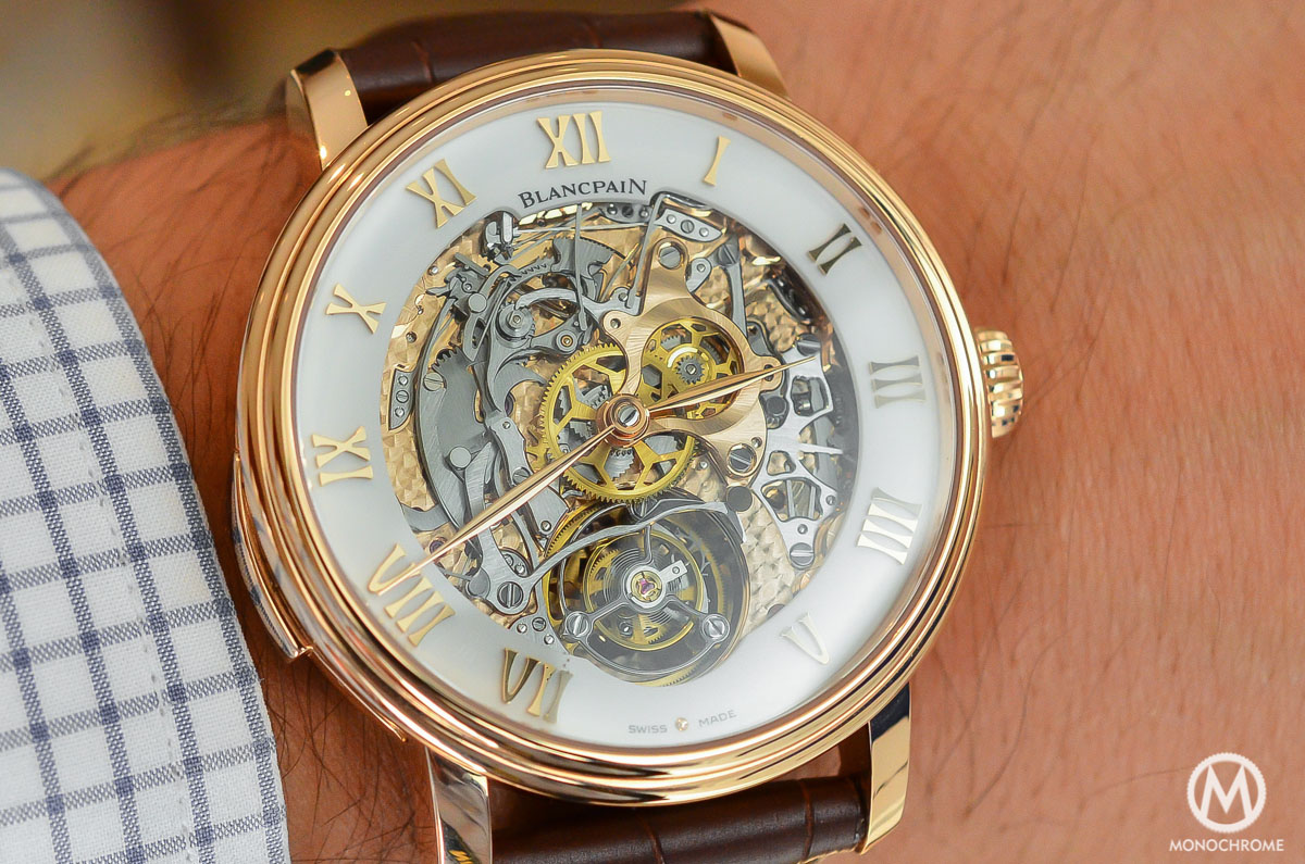 Blancpain carrousel minute repeater Le Brassus Skeleton Tourbillon - 9