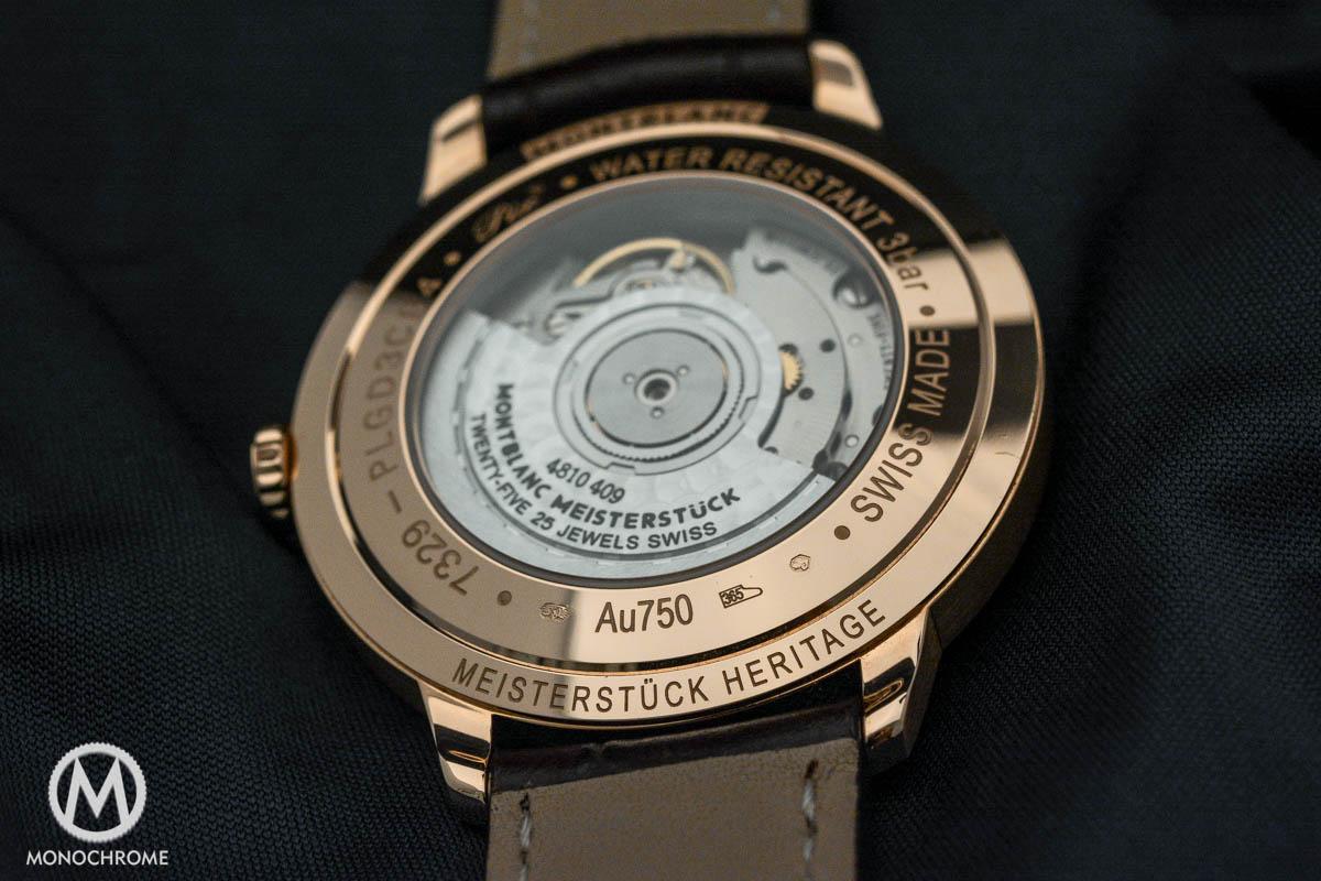 Montblanc Meisterstuck Heritage gold
