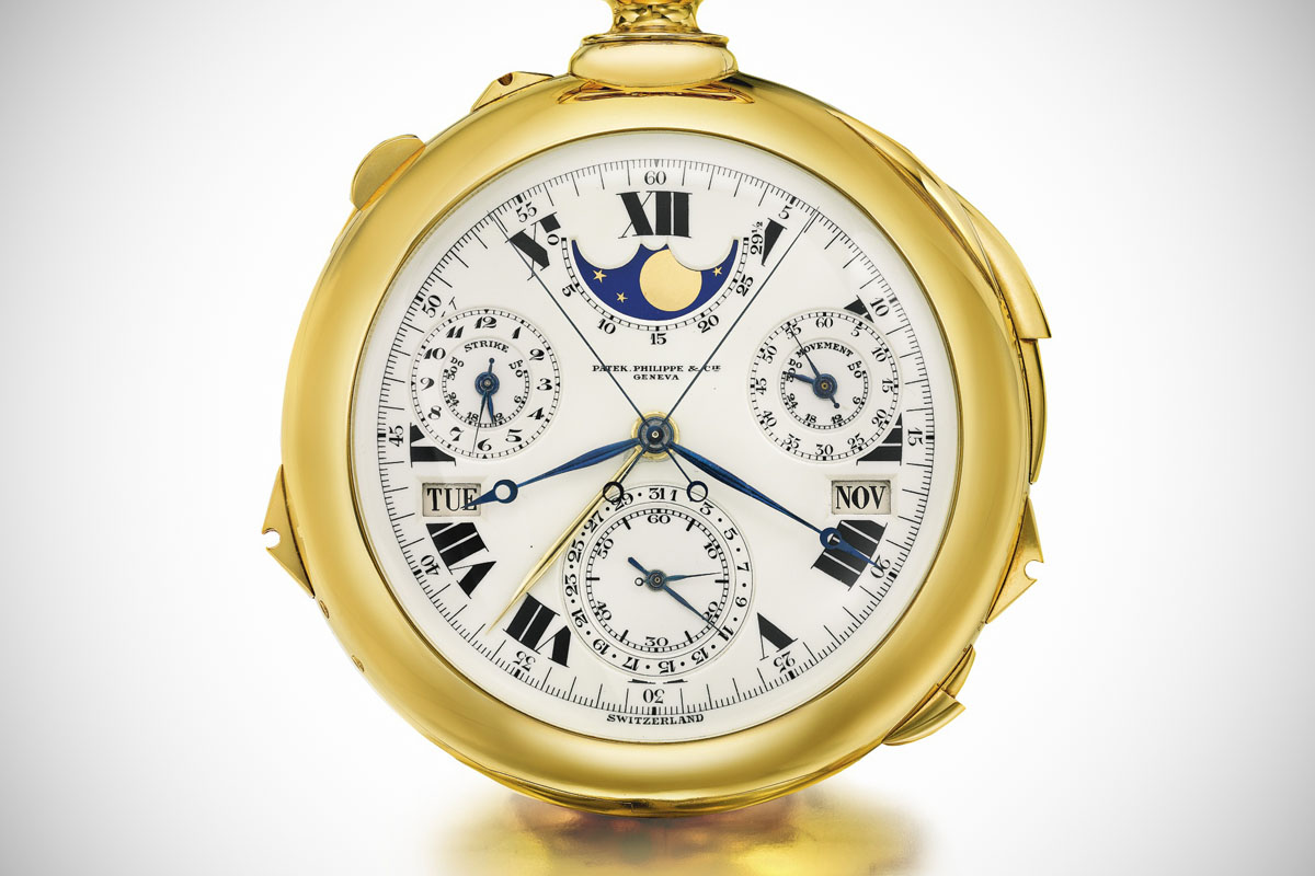 1932 Patek Philippe Henry Graves Supercomplication