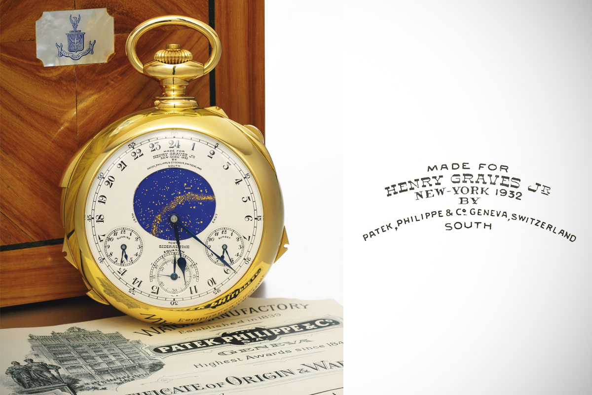Henry Graves Patek Philippe Supercomplication Sotheby's - 5