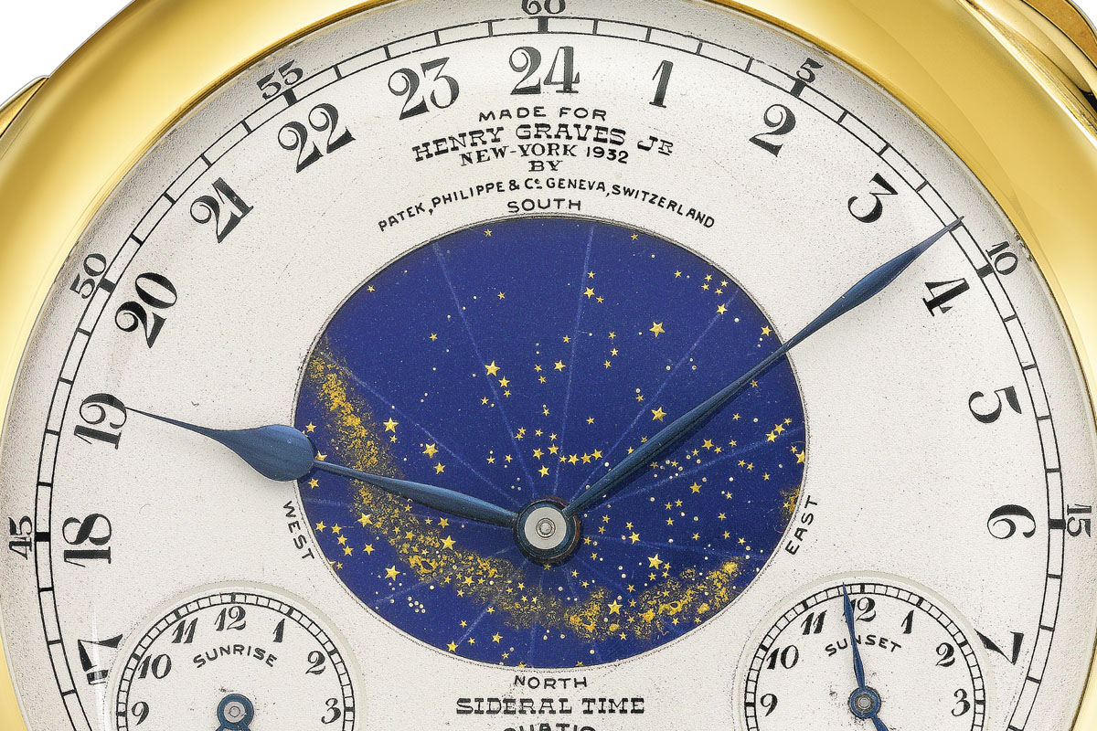 Henry Graves Patek Philippe Supercomplication Sotheby's - 6