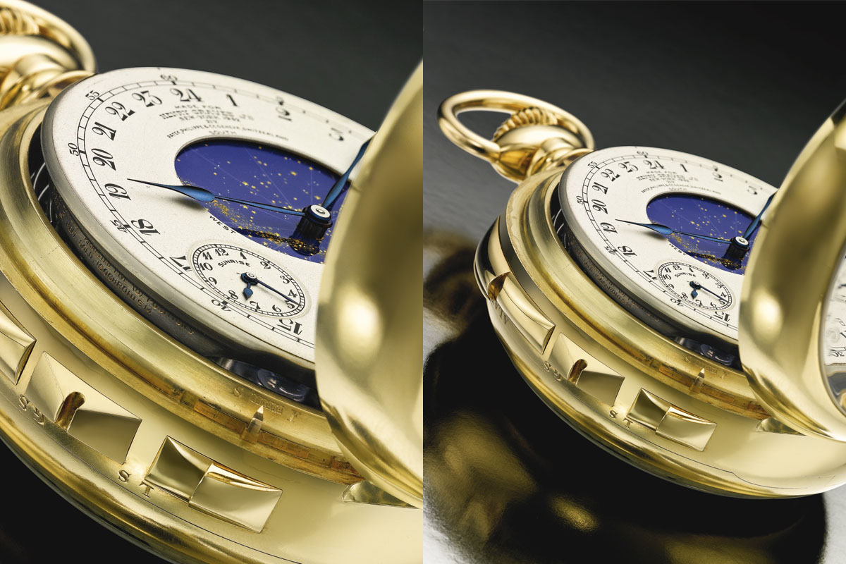Henry Graves Patek Philippe Supercomplication Sotheby's - 7