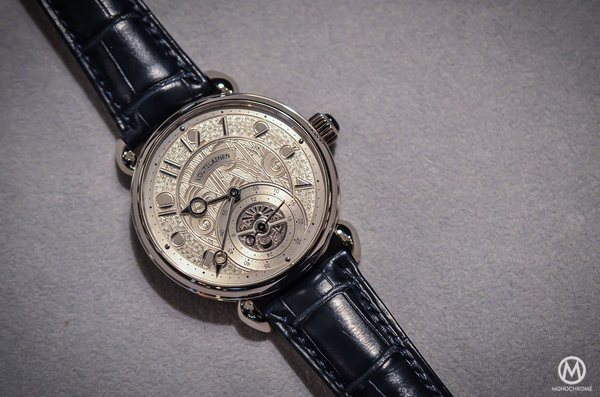 Kari Voutilainen GMT-6 Art Deco dial - 1