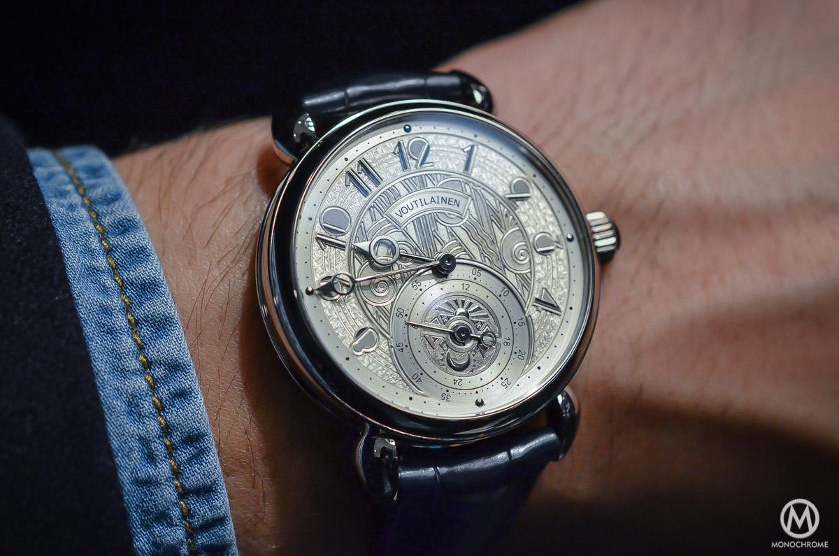 Kari Voutilainen GMT-6 Art Deco dial - 11