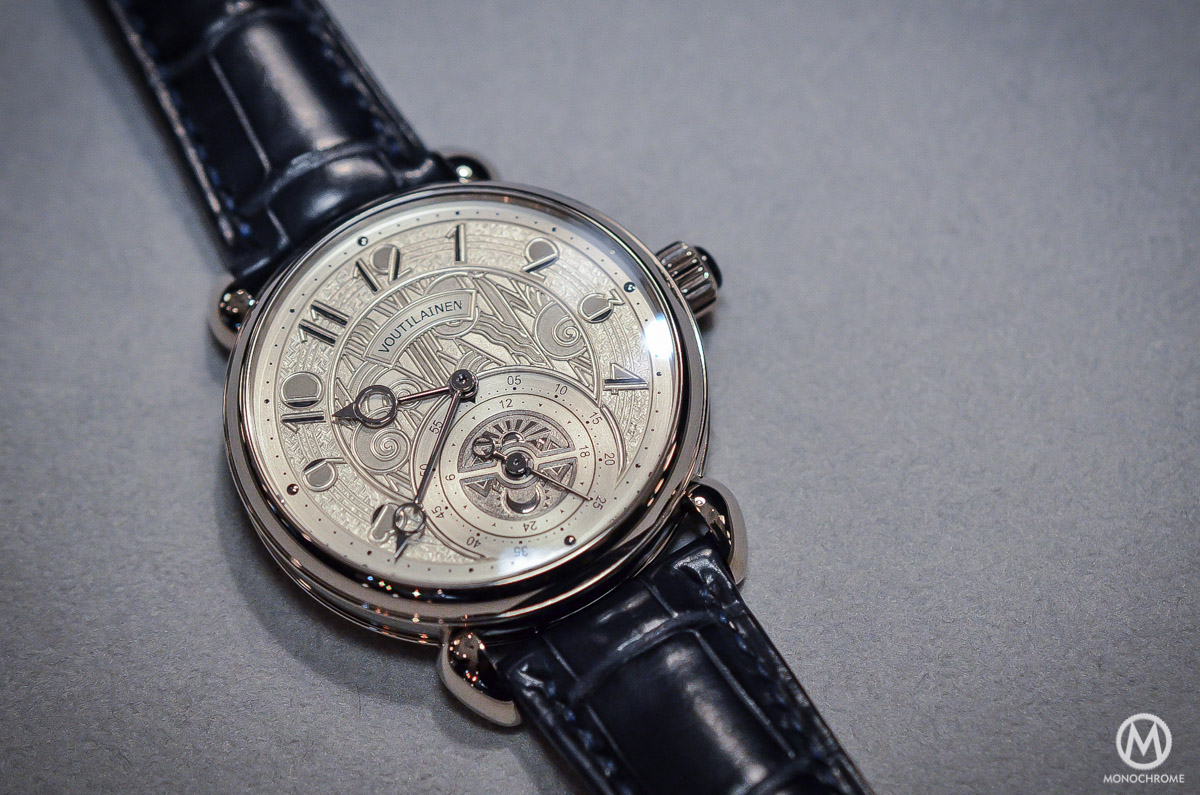 Kari Voutilainen GMT-6 Art Deco dial - 2