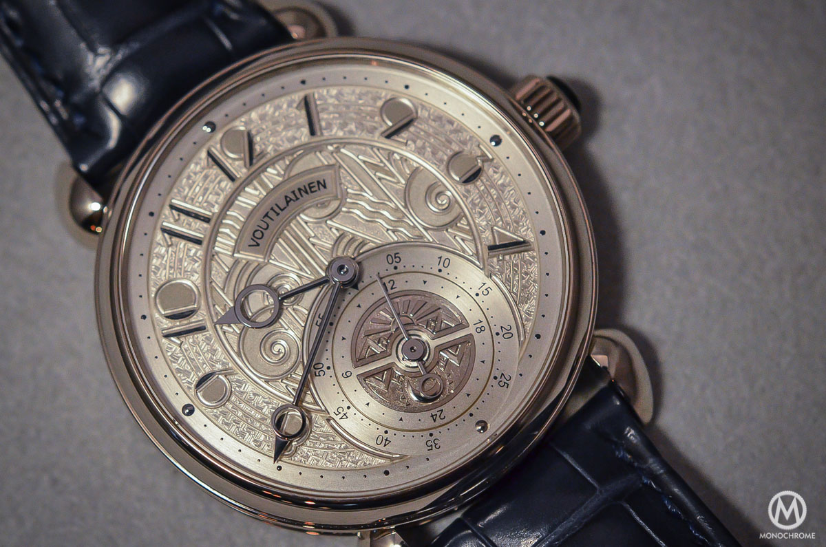 Kari Voutilainen GMT-6 Art Deco dial - 4