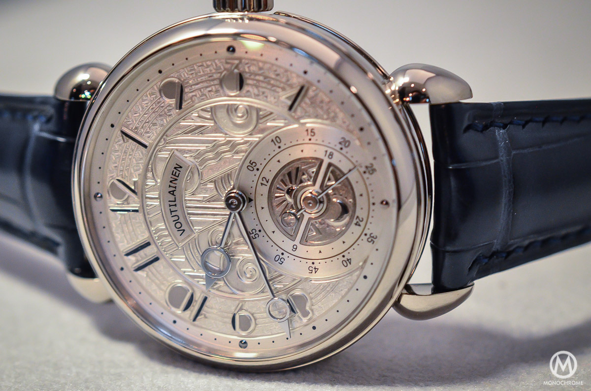 Kari Voutilainen GMT-6 Art Deco dial - 5