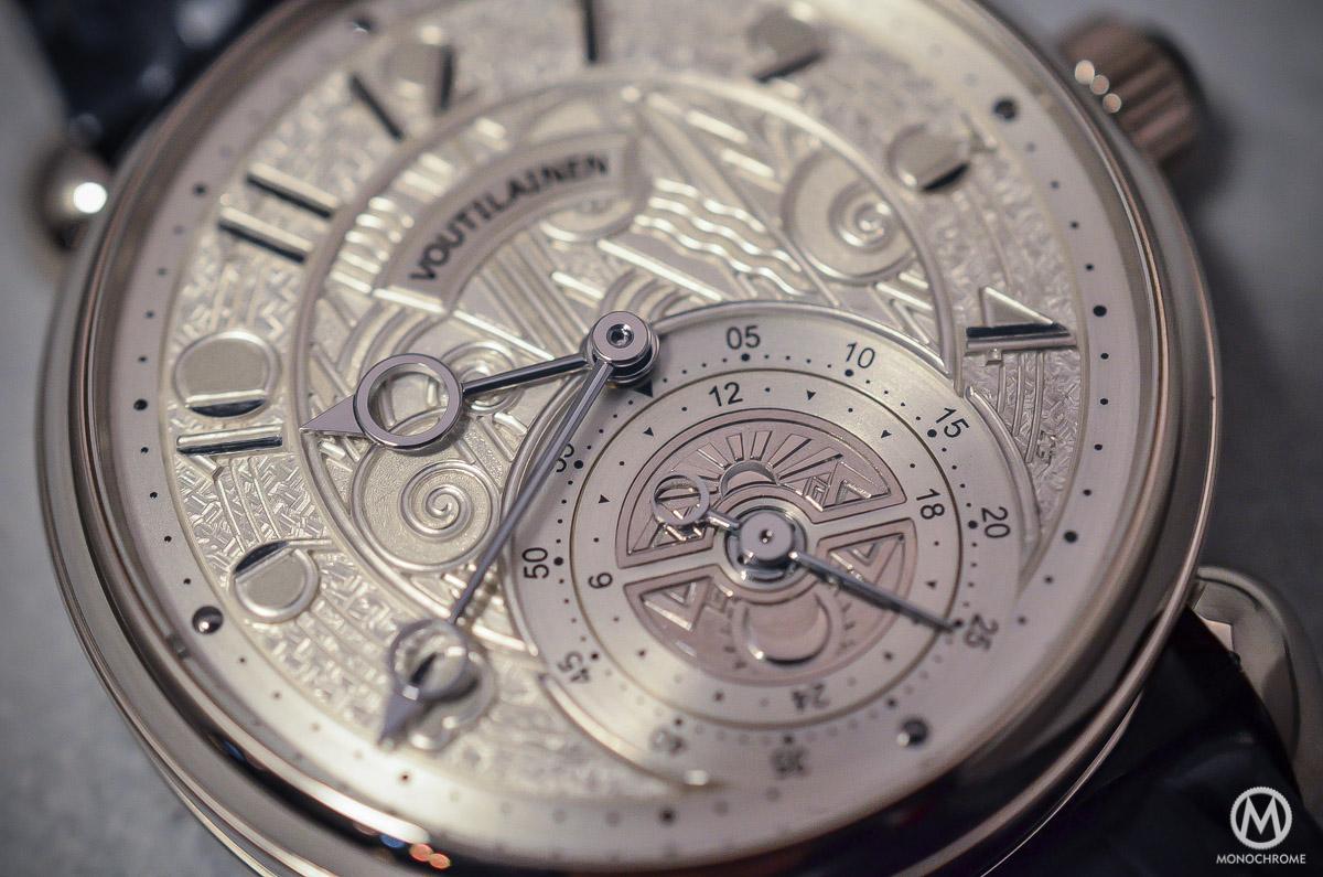 Kari Voutilainen GMT-6 Art Deco dial - 6