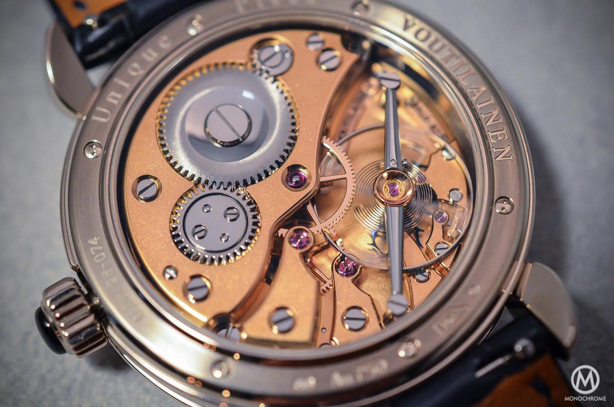 Kari Voutilainen GMT-6 Art Deco dial - 7