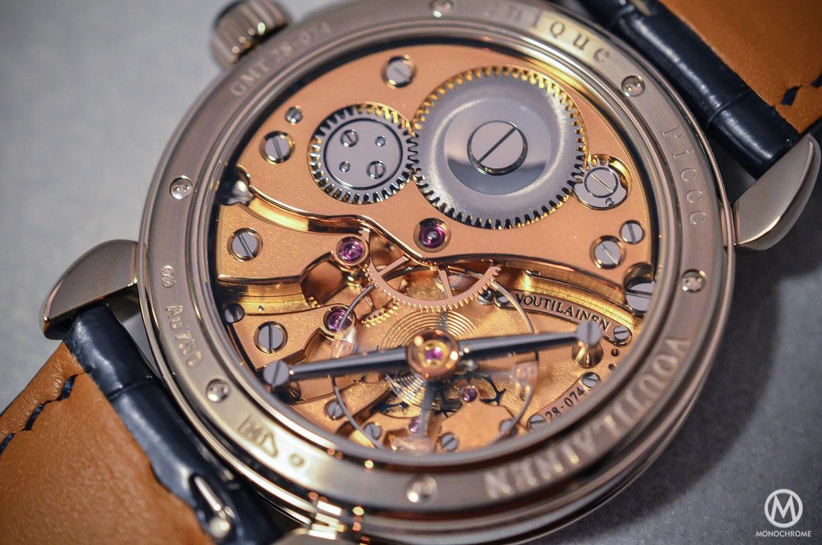 Kari Voutilainen GMT-6 Art Deco dial - 8