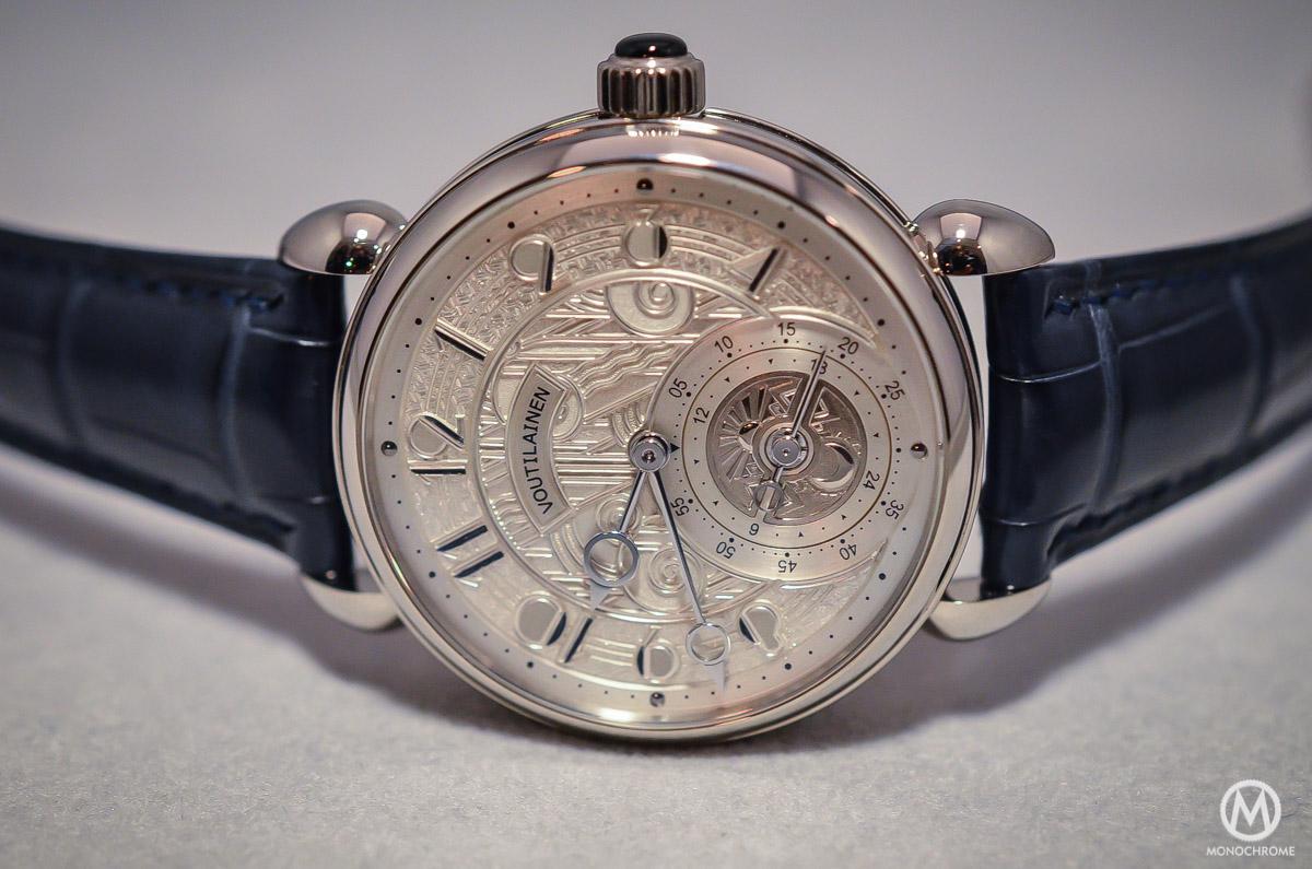 Kari Voutilainen GMT-6 Art Deco dial - 9