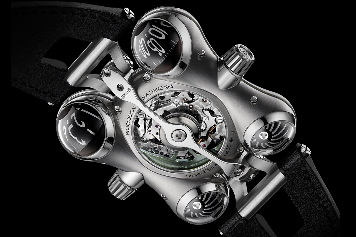 MB&F HM6 horological Machine 6 Space Pirate - 10