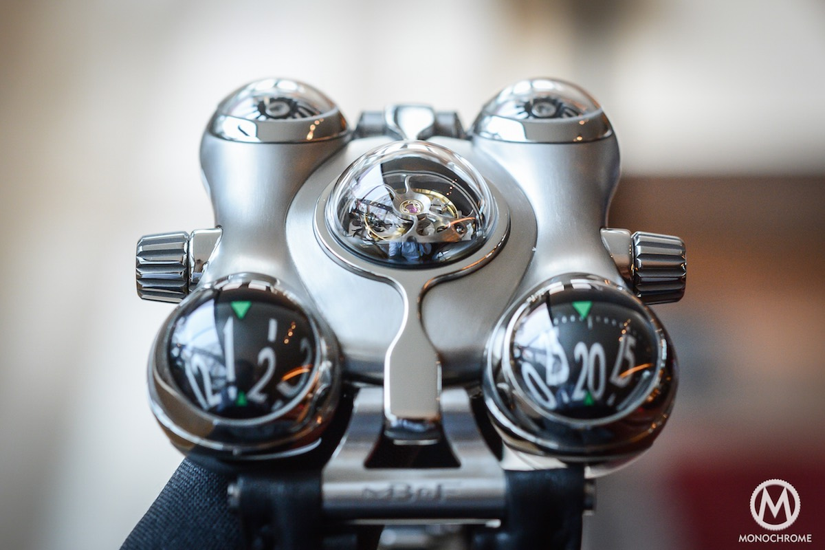 MB&F HM6 horological Machine 6 Space Pirate - 2