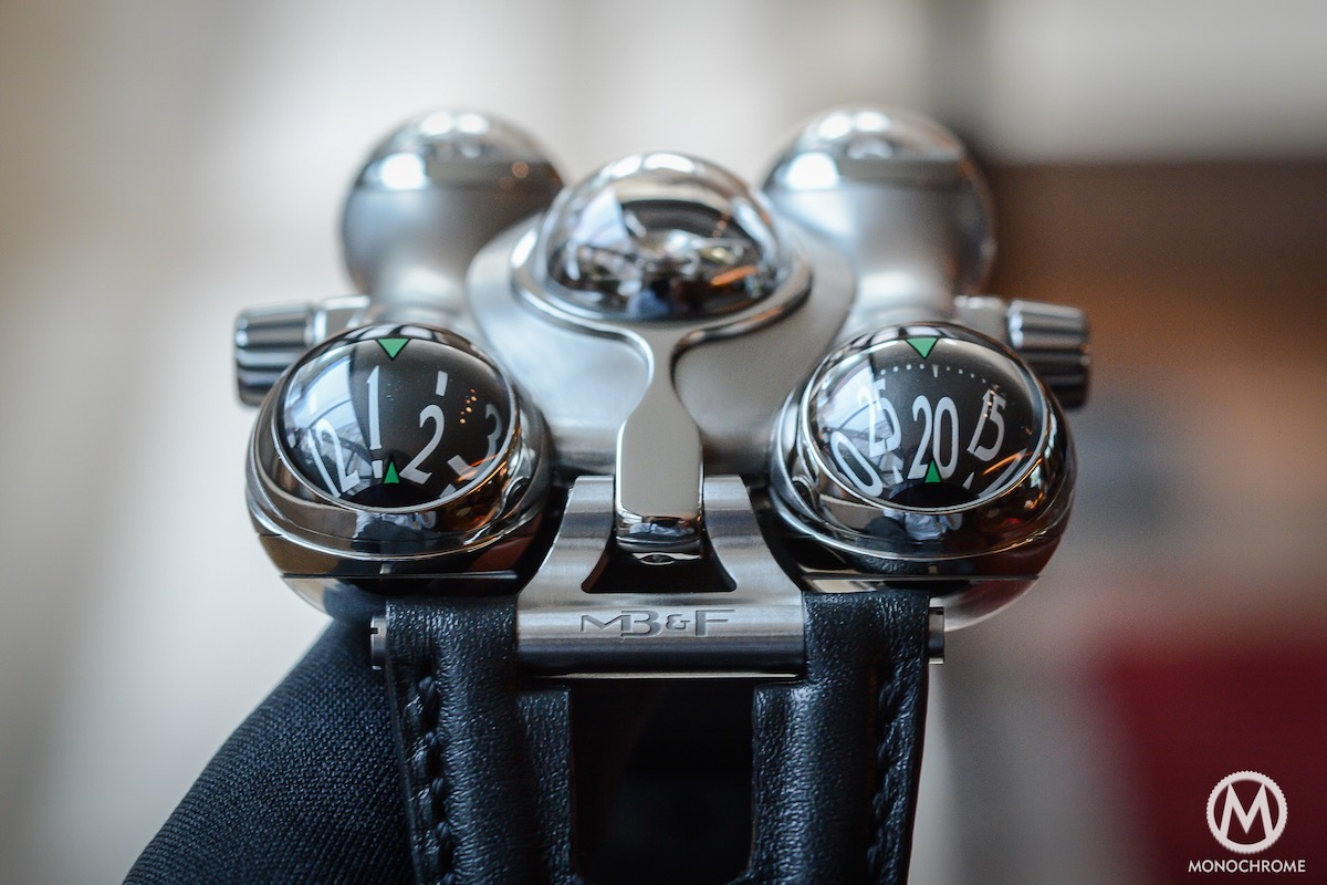 MB&F HM6 horological Machine 6 Space Pirate - 3