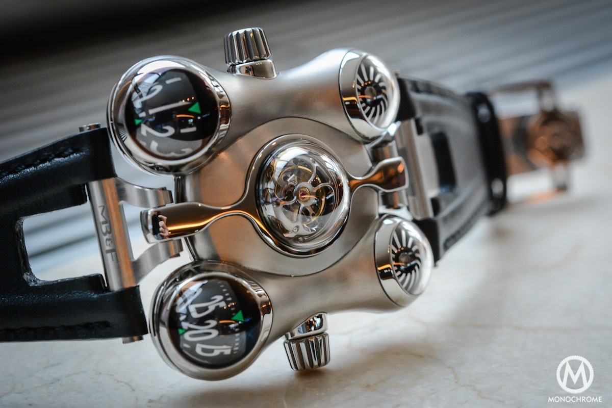 MB&F HM6 horological Machine 6 Space Pirate - 4